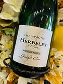 <b>CHAMPAGNE</b><br /><b>HERBELET</b><br />Blanc de Blancs (&#9829 2021)<br />Bouteille 75cl