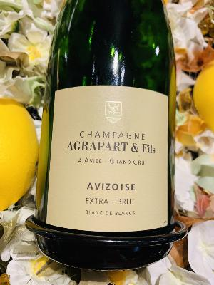 <b>CHAMPAGNE</b><br /><b>AGRAPART</b><br />Avizoise 2014<br />Blanc - 75cL - Extra-Brut